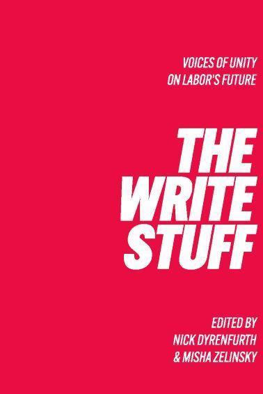 The Write Stuff Voice of Unity on Labor's Future