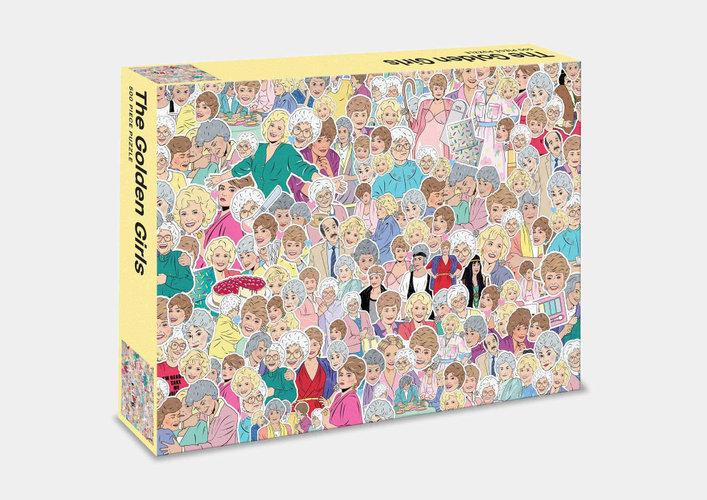 The Golden Girls Jigsaw Puzzle (500 pieces)