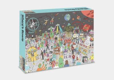Where's Bowie ? Jigsaw Puzzle(500Pieces)