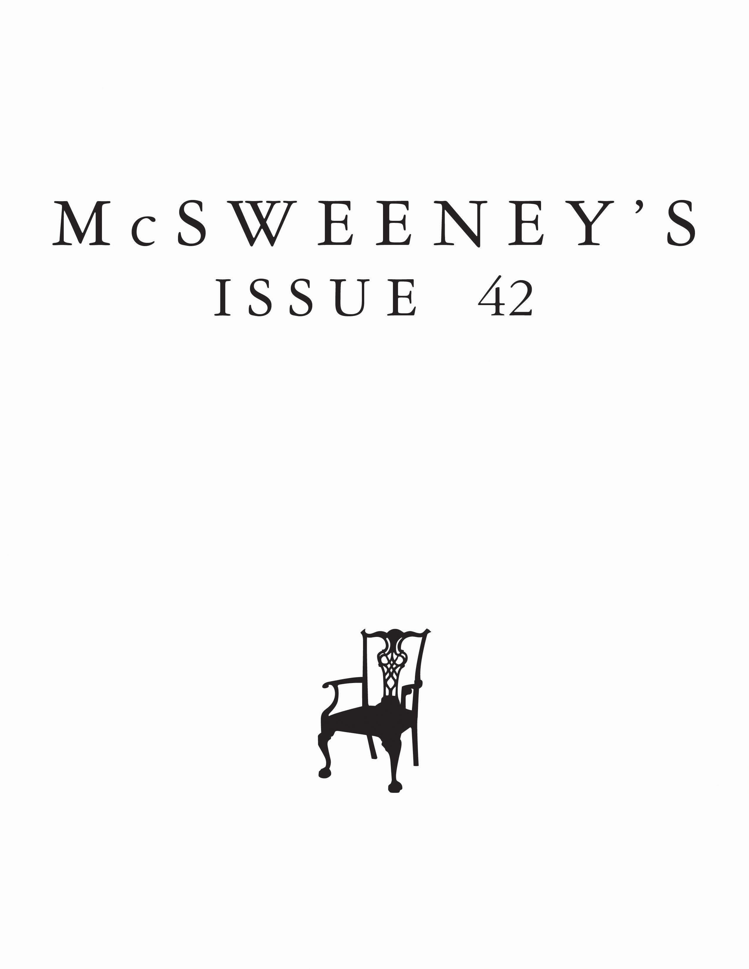 McSweeney'sIssue42