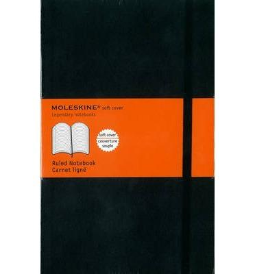 Moleskine: Ruled Soft Cover Notebook - Large