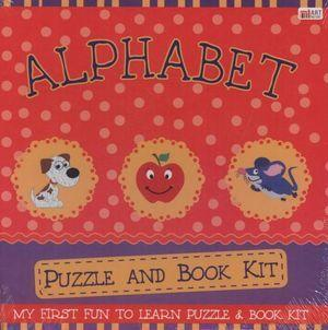 Alphabet: Puzzle And Book Kit (24 pieces)