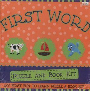 First Words: Puzzle AndBookKit
