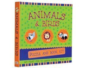 Animals & Birds: Puzzle andBookKit